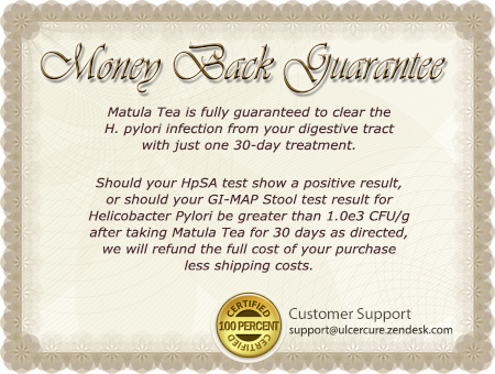 matula tea guarantee